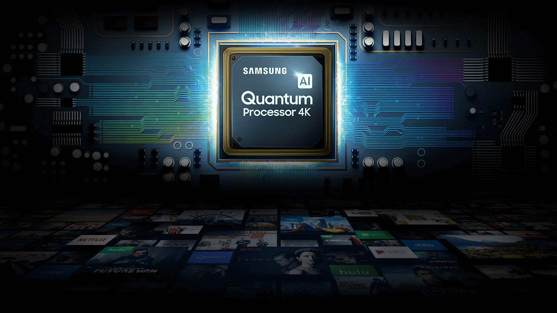 Samsung Quantum AI Proccessor 4k