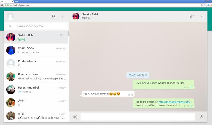 how to use WhatsApp Web On Desktop o iPad
