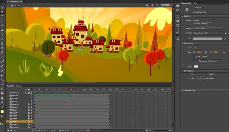 adobe animate best animation software
