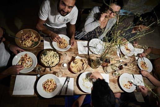Beispielreise Natur Sardinien Dinner