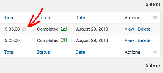Stripe Recurring Payment