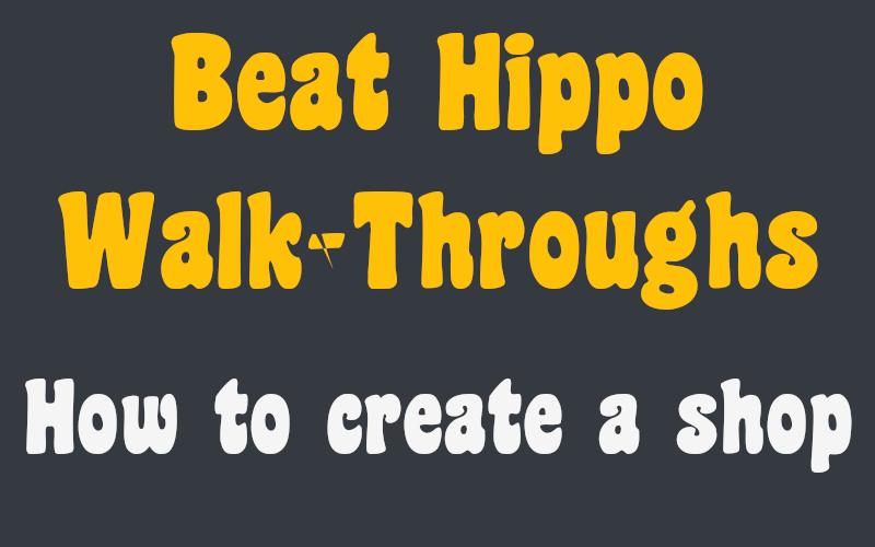 create a shop header