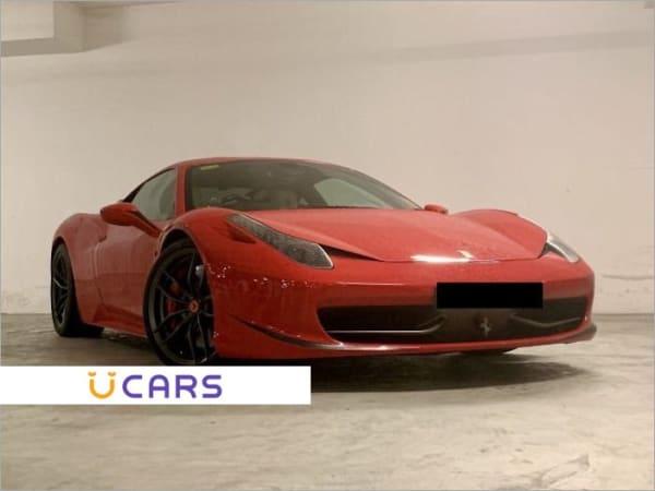 Buy Used Ferrari 458 Italia New 10 Yr Coe Online Ucars Singapore