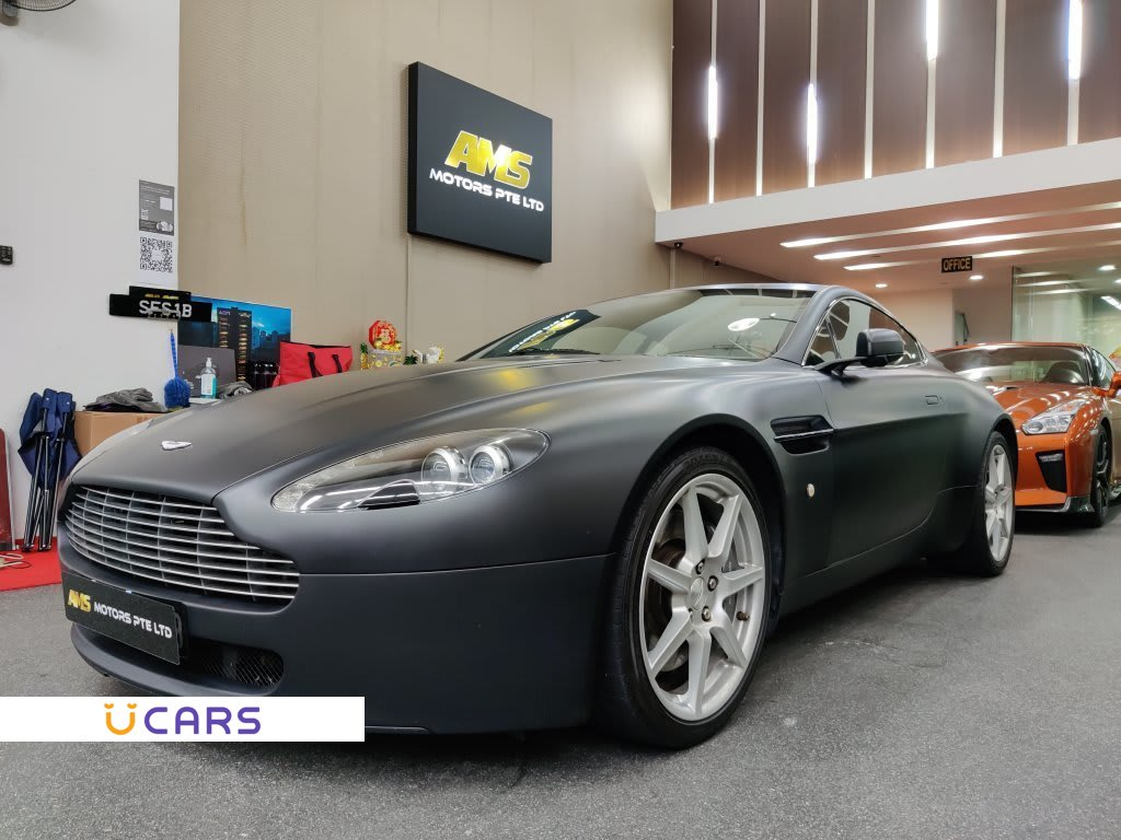 Used Aston Martin V8 Vantage Coupe 4 3m Coe Till 01 2027 For Sale In Singapore Ucars