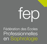 Logo fédérations des écoles professionnelles en sophrologie