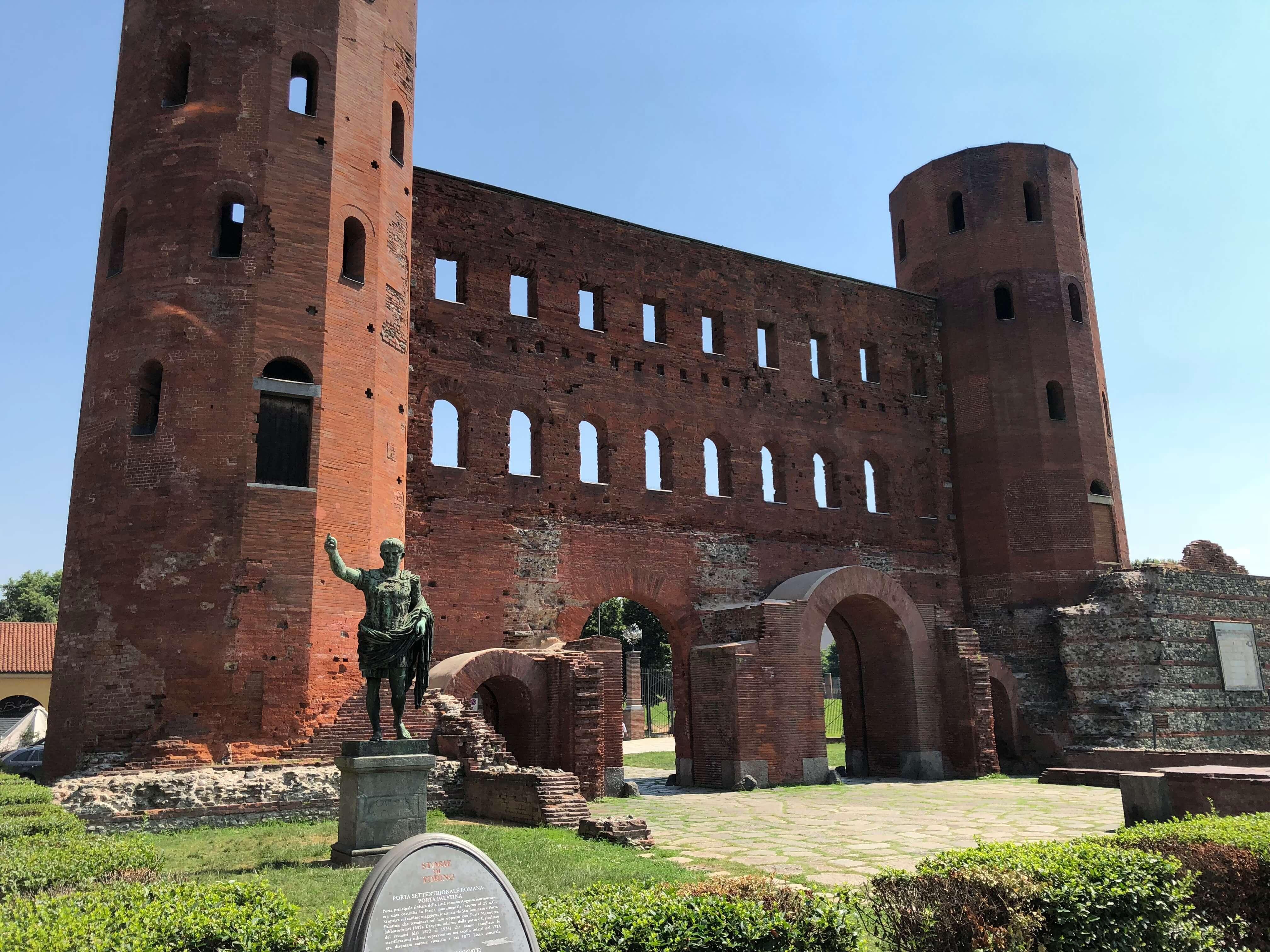 Turin - Porta Palatina