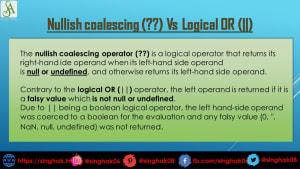 Use of Nullish Coalescing (??) Operator in JavaScript