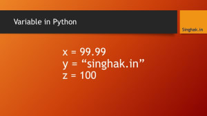 Variable in Python
