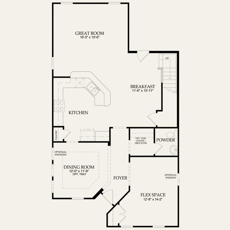 Magnolia Homes Floor Plans | Magnolia 523973 Pulte