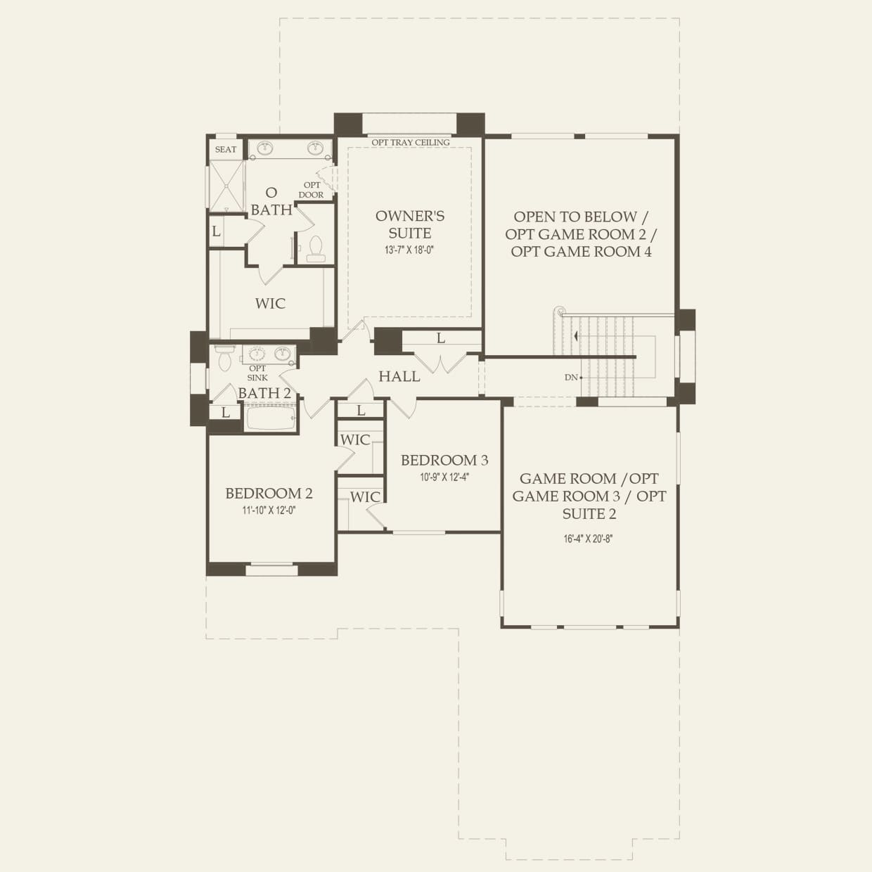 starwood at the estates at morrison ranch in mesa arizona pulte second floor
