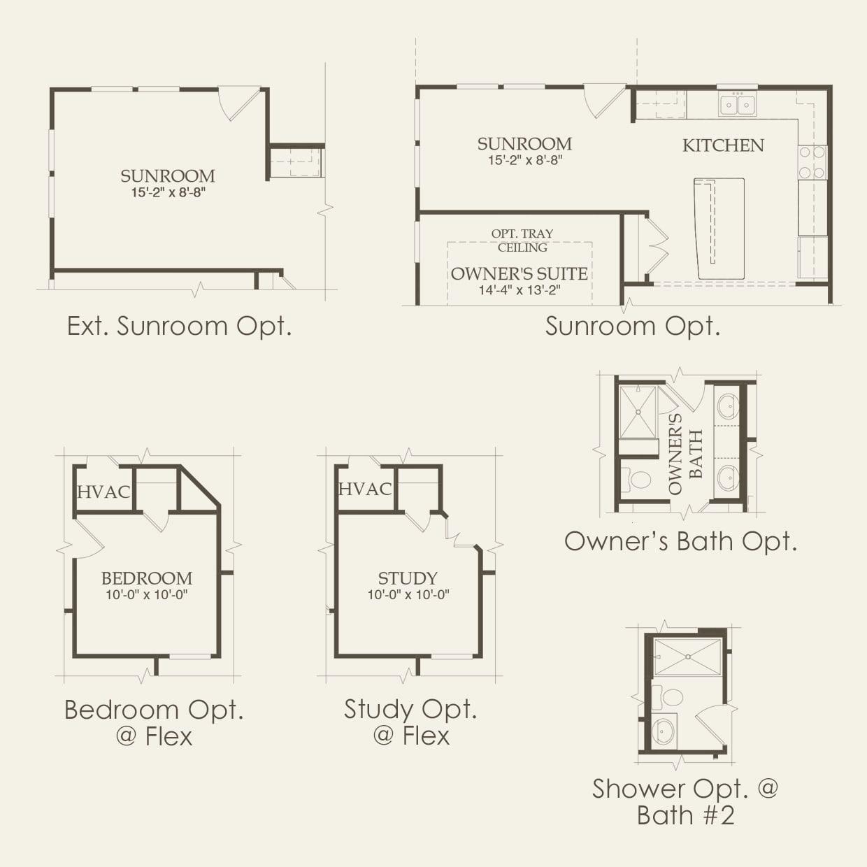 Taft Street in Frisco TX at Frisco Lakes – Del Webb Taft Street Floor Plan