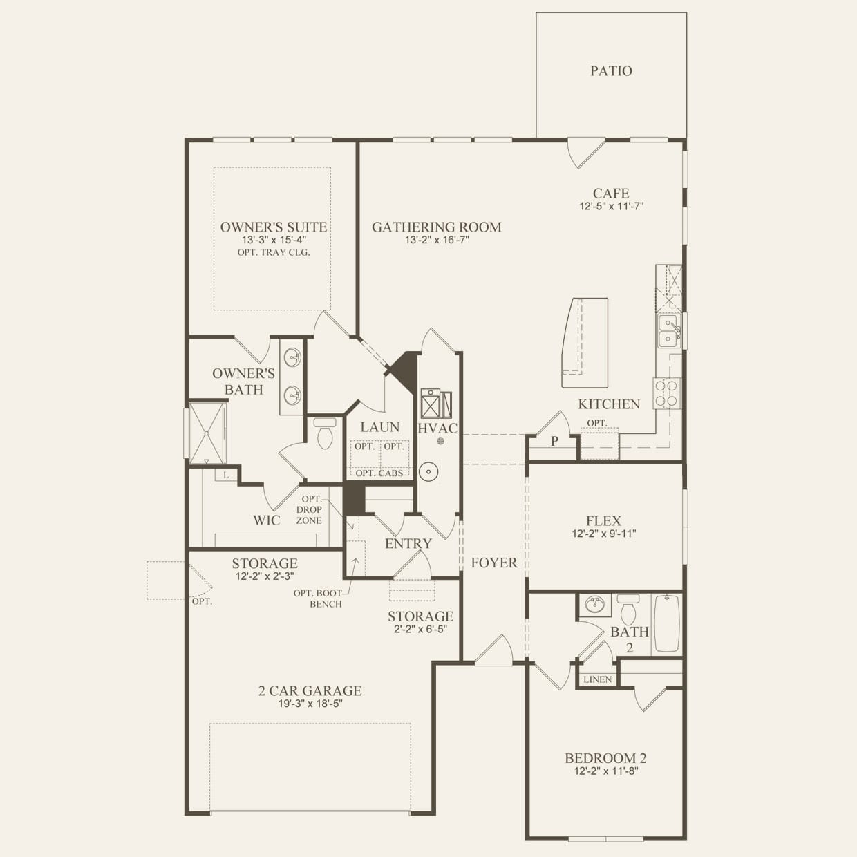 Abbeyville In Mentor Oh At Newell Creek Pulte Ohio Home Wiring Circuit Diagram First Floor