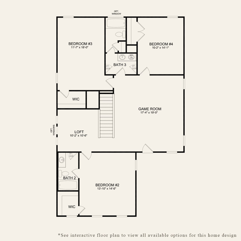 Ravenwood in Charleston SC at Essex at Carolina Bay – Essex Homes Floor Plans