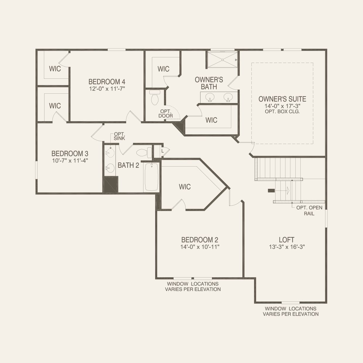 Hilltop In Warminster Pa At Cobblestone Estates Pulte Kitchen Plumbing Diagram Shematic Second Floor