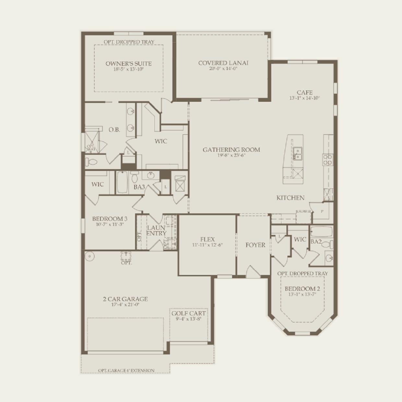 Pinnacle In St Cloud Fl At Split Oak Estates Pulte Wiring Diagrams First Floor
