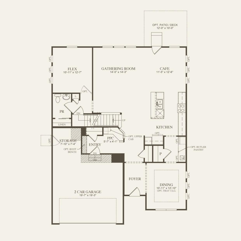 Continental in Novi MI at Oberlin – Continental Homes Floor Plans Arizona