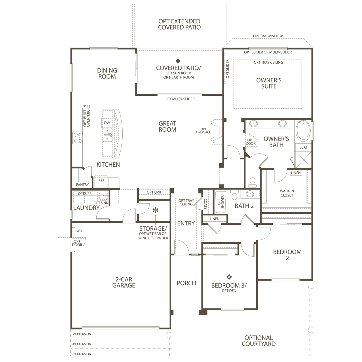 The Haven In Apple Valley Ca At Sun City Del Webb Kitchen Plumbing Diagram Shematic First Floor