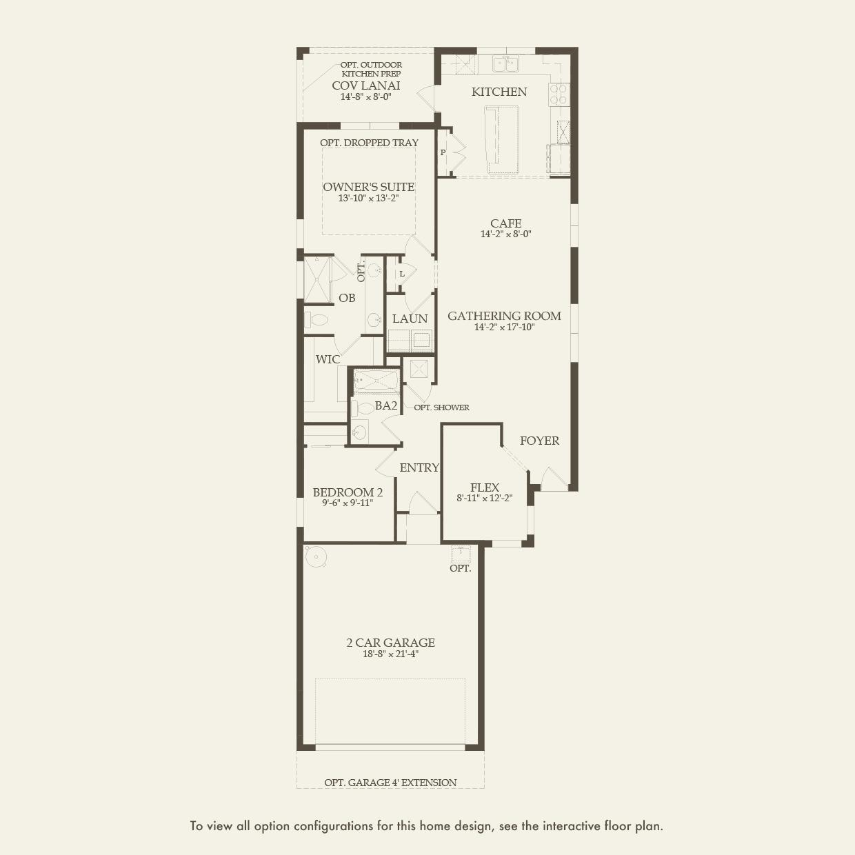 Taft Street in Ave Maria FL at Del Webb Naples – Del Webb Taft Street Floor Plan
