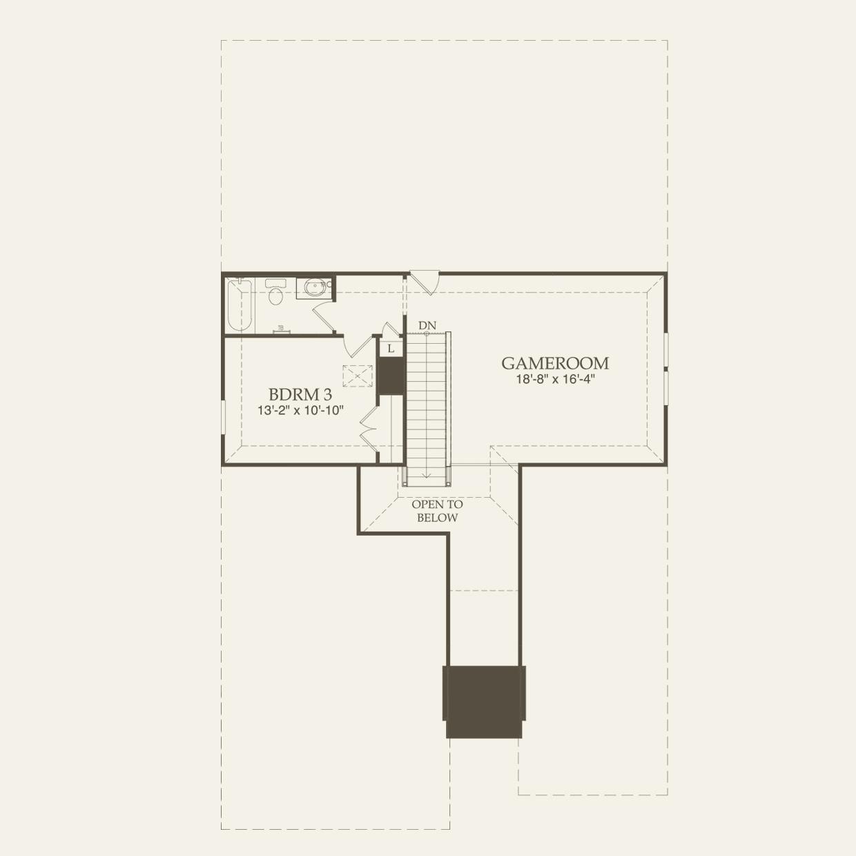 Carissa in San Antonio TX at Alamo Ranch – Pulte Homes Ranch Floor Plans