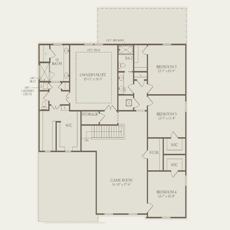 Mariner In Orlando Fl At Estates Lake Pickett Pulte Interactive House Wiring Diagram Second Floor