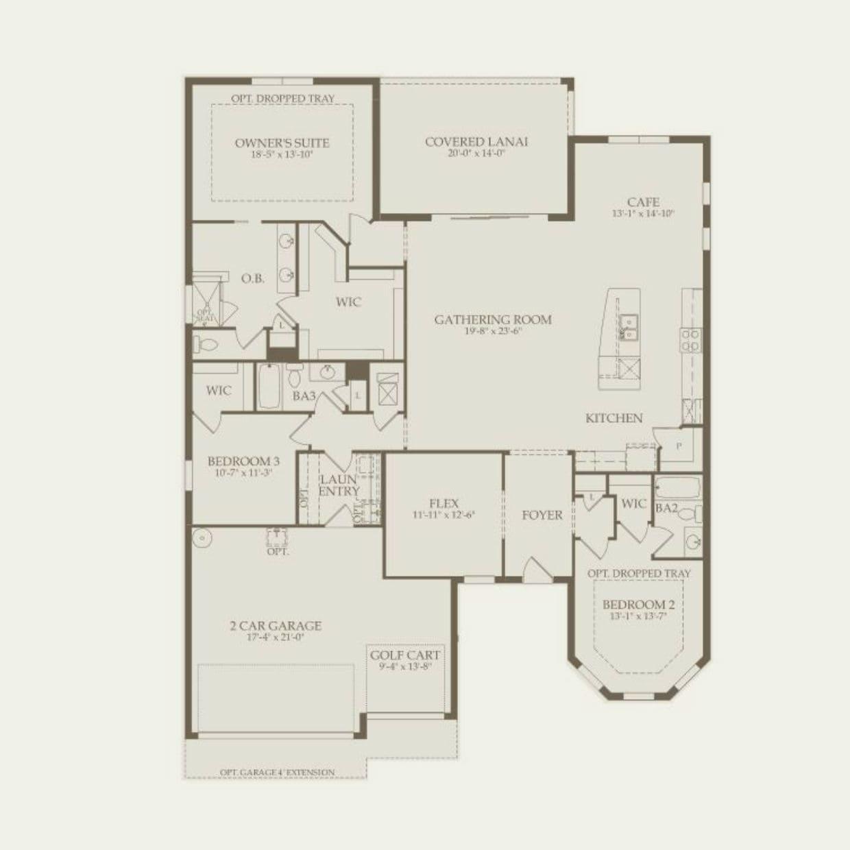Pinnacle in Ocala FL at Del Webb Stone Creek – Pinnacle Homes Floor Plans