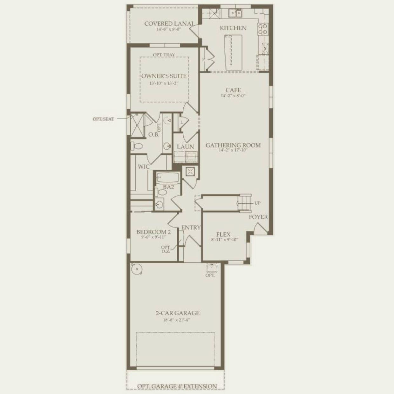 Taft Street in Ocala FL at Del Webb Stone Creek – Del Webb Taft Street Floor Plan