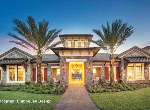 Picture of a sample home within Gulfstream Polo.