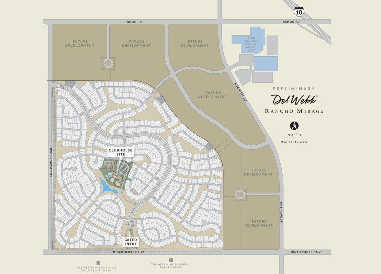 New Homes in Rancho Mirage California at Del Webb at Rancho Mirage