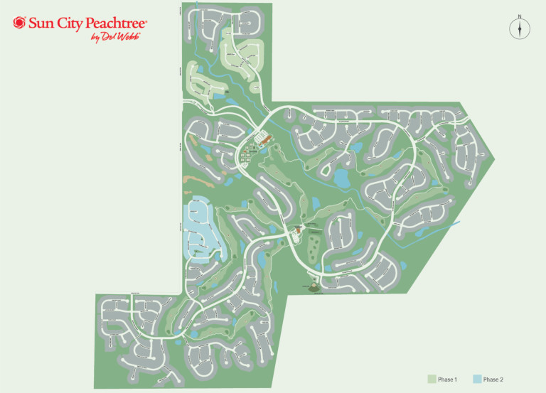 Peachtree Georgia Map.New Quick Move In Home In Griffin Ga At Sun City Peachtree Lot