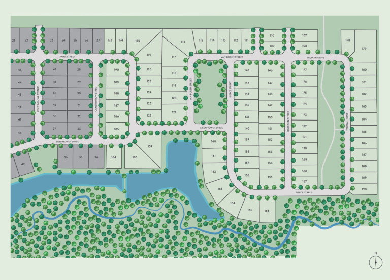 Eastfield in Canton, MI at River Hill Ridge | Pulte