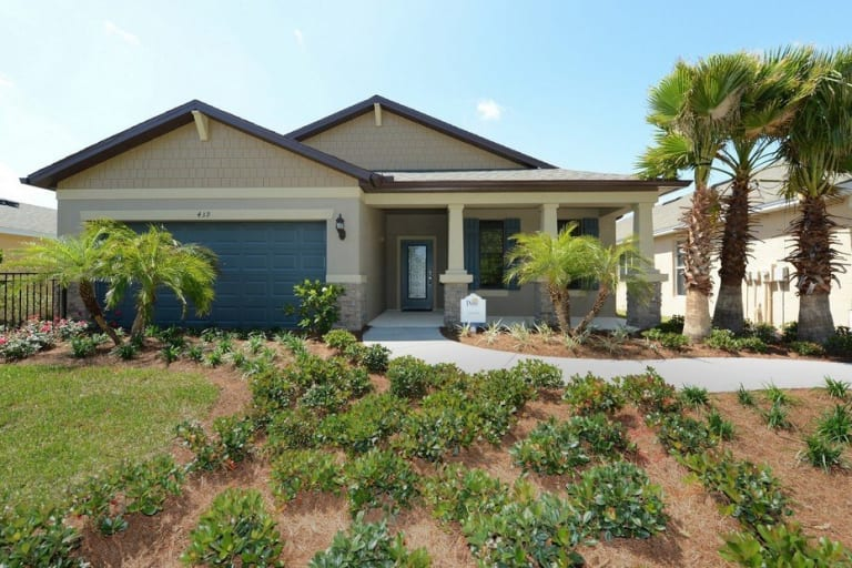 Pulte homes compton model