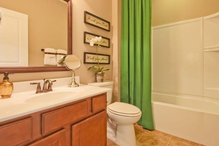 Fancy Secondary Bathroom