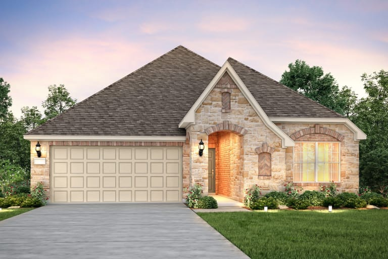 New Homes In The Woodlands Texas At Creekside