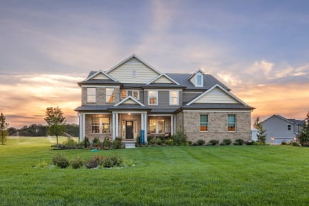 big home designs. Deer Valley home design New Homes in Pennsylvania  Pulte