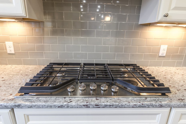 cooktop stove with double oven