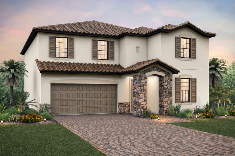 Sandhill floor plan at The Place at Corkscrew