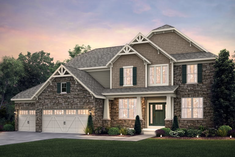 Woodside in Copley, OH at Millers Farm | Pulte on
