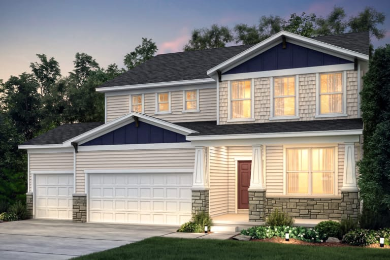 New Homes In Woodbury Minnesota At Southridge Expressions