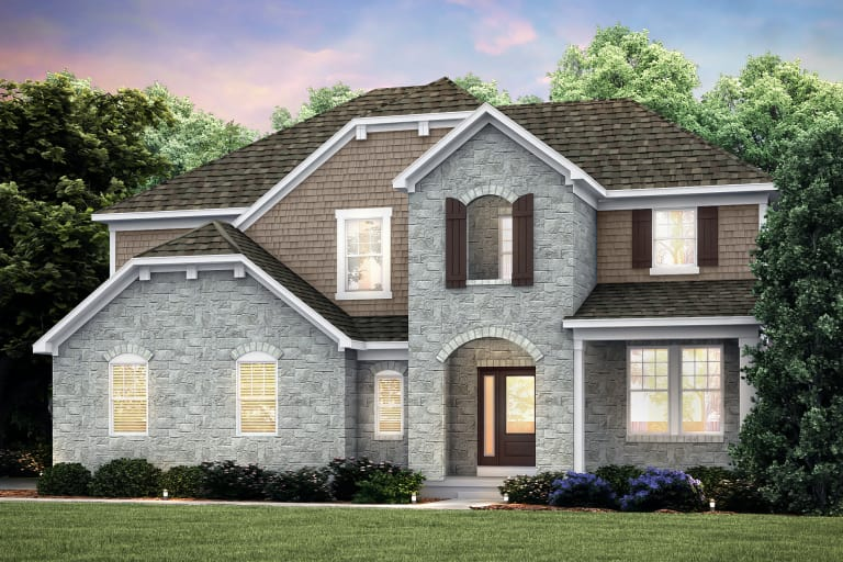 Maple Valley in Lake Orion, MI at Bald Mountain | Pulte