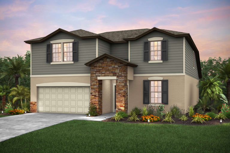 Magnolia Park New Home Communities Riverview Florida Homes Centex