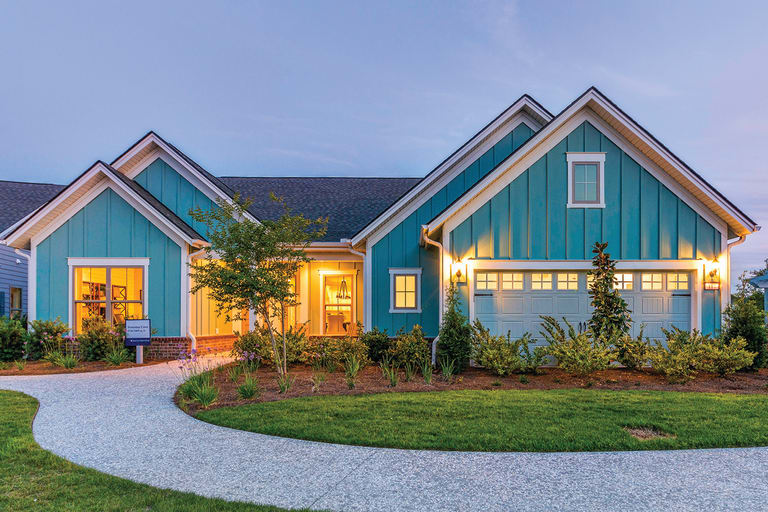 new homes in bluffton south carolina at the haven at new riverside