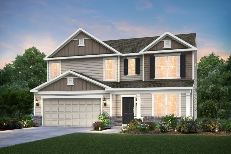 Ardmore Lane Freedom Series New Home Communities Shelbyville Kentucky Homes Centex