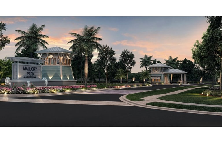 New Homes At Mallory Park Lakewood Ranch In Florida