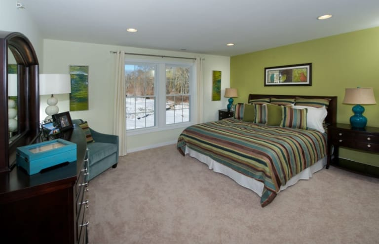 Master Bedroom Kingston new homes at brookfield village in south weymouth, massachusetts
