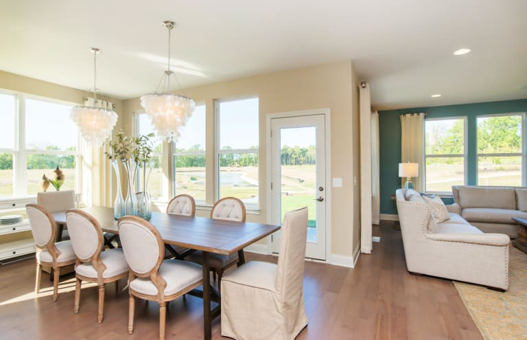 New Homes in Noblesville, Indiana at Lochaven   Pulte