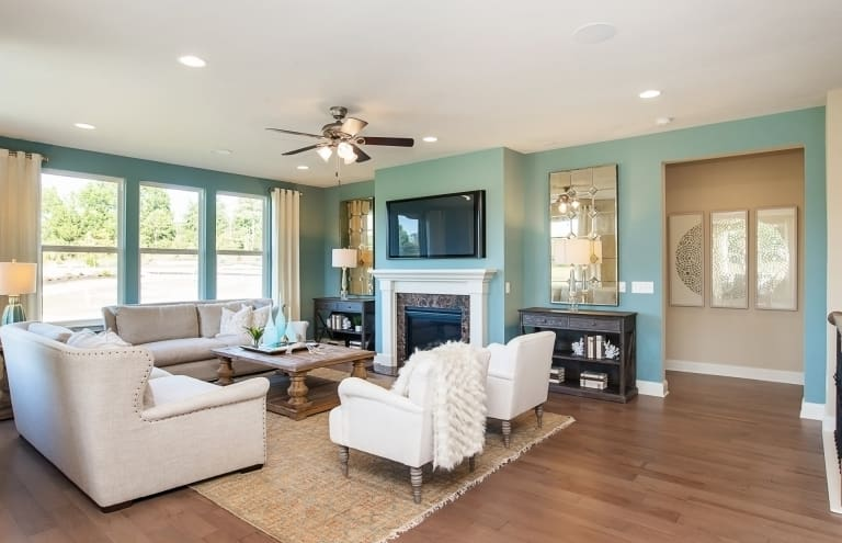 New Homes in Fishers, Indiana at The Haven   Pulte