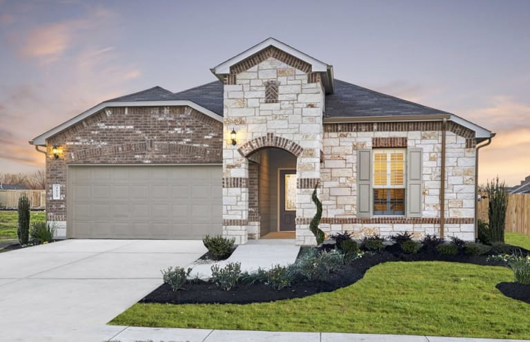 new homes in pflugerville texas at avalon pulte