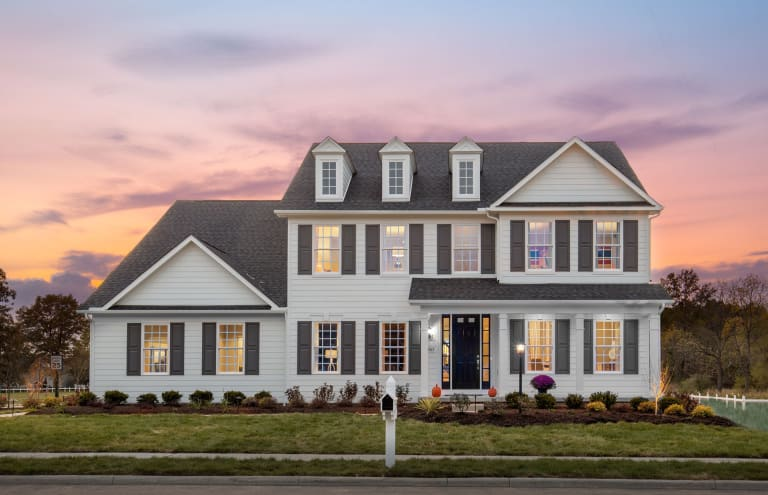 new homes in new albany ohio at millbrook farm at sugar run pulte