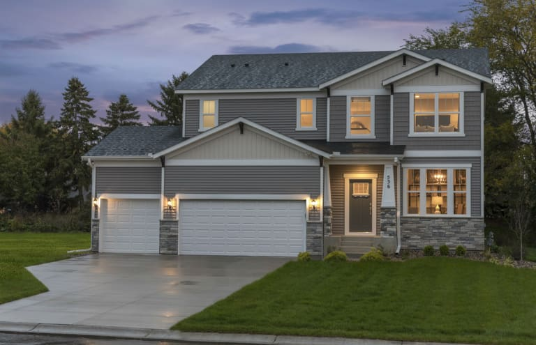 New Homes In Woodbury Minnesota At Glen View Farm Expressions