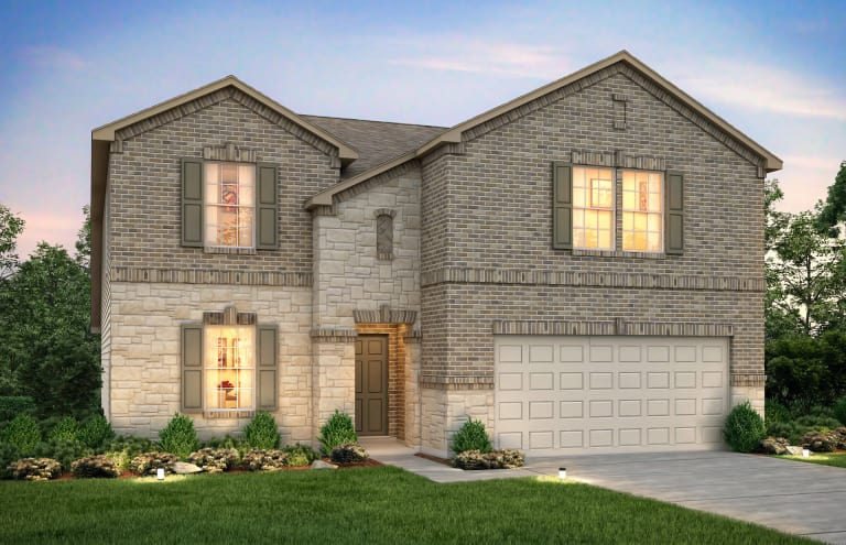 new quick move in home in aubrey tx at winn ridge centex
